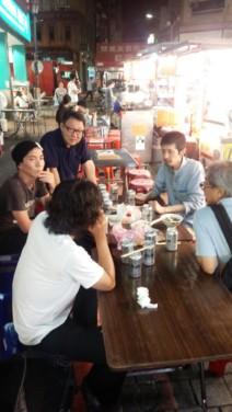 台湾での飲み会