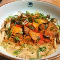 秋の限定和え麺
